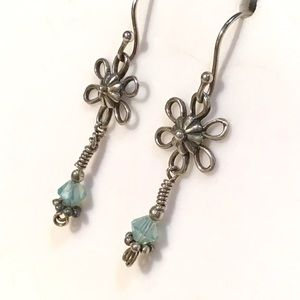 🌺Artisan Sterling Flower Earrings